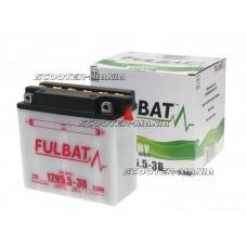 battery Fulbat 12N5.5-3B DRY incl. acid pack