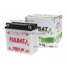 battery Fulbat 12N5.5-4A DRY incl. acid pack