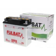 battery Fulbat 51913 DRY incl. acid pack