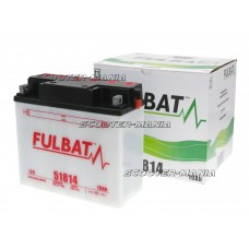 battery Fulbat 51814 DRY incl. acid pack