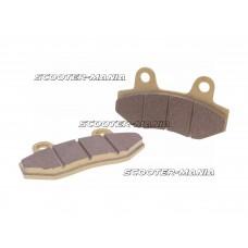 brake pad set for two piston caliper for China