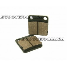 brake pad set for one piston caliper for China 4-stroke