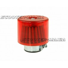 air filter Air-System metal gauze filter 35mm straight version red shield