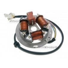alternator stator / magneto ignition 12V for Simson S51, S53, S70, S83, Schwalbe, SR