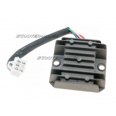 regulator / rectifier 5 wire for SYM, Baotian, Adly (GY6 50-150cc)