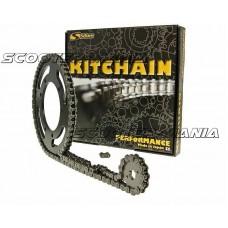 chain kit heavy duty 12/47 tooth for Aprilia Tuono 50 (03-05)