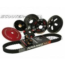 super trans kit Naraku 729mm for 4-stroke 50cc 139QMB