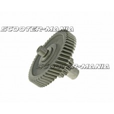 counter shaft gear assembly 13/52 tooth for China 2-stroke, CPI, Keeway