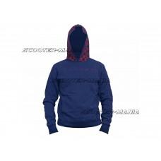 hoody Malossi blue size L
