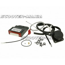 ECU Digitronic KRM Malossi inject to carb conversion kit