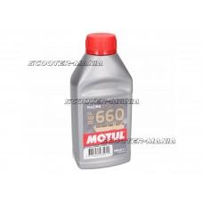 Motul RBF 660 Factory Line DOT 4 racing brake fluid 500ml