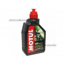 Motul engine oil 4-stroke 4T 10W40 Scooter Expert MB 1 Liter