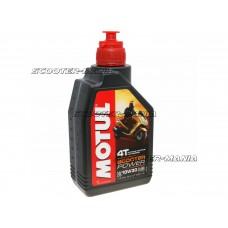 Motul engine oil 4-stroke 4T 10W30 Scooter Power MB 1 Liter