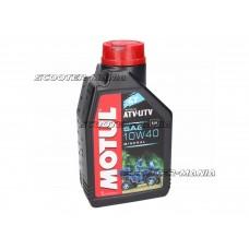 Motul engine oil 4-stroke 4T 10W40 ATV-UTV/ quad 1 Liter