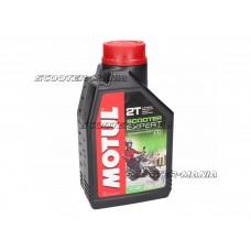 Motul engine oil 2-stroke Scooter Expert semi-synthetic 1 liter