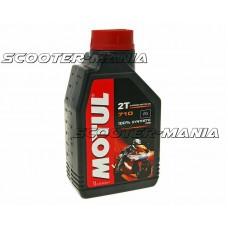Motul engine oil 2-stroke 710 100% synthetic ester 1 liter