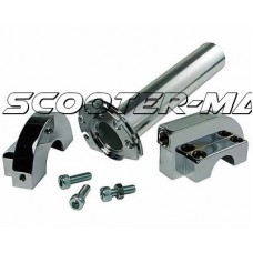 quick action throttle / throttle tube kit Naraku chrome - universal