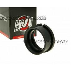 air filter carb connection / air funnel Naraku black for PHBG carburetor