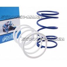 torque / variator adjuster spring set Polini 7%, 15% (2 pcs) for GY6, Kymco, Honda