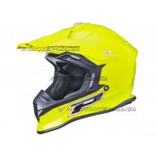 MX helmet ProGrip 3190 FLUO yellow size L (59-60)