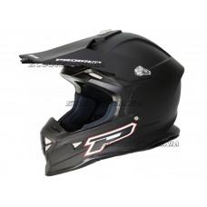 MX helmet ProGrip 3190 MATT black size S (55-56)