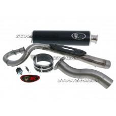 exhaust Turbo Kit Quad / ATV E-marked for Kymco MXer 150, MXU 150