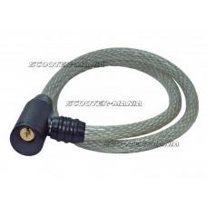 cable lock Urban Security 460 d=12mm, l=80cm