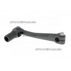 gear shift lever aluminum carbon-look for Minarelli AM, Crosser, SM