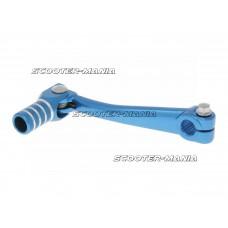 gear shift lever aluminum blue for Minarelli AM, Crosser, SM