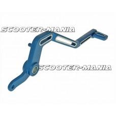 brake pedal aluminum blue for Minarelli AM Racer