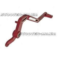brake pedal aluminum red for Minarelli AM Racer
