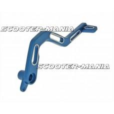 brake pedal aluminum blue for Derbi Senda DRD, SM, X