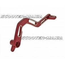 brake pedal aluminum red for Derbi Senda DRD, SM, X