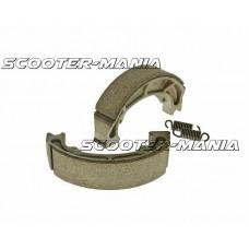 brake shoe set 120x25mm for drum brake for Atala Hacker, Derbi Paddock, Italjet Torpedo, Suzuki Katana