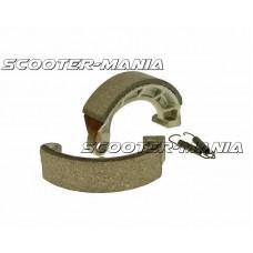 brake shoe set 105x25mm for drum brake for Derbi Vamos