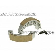 brake shoe set 100x20mm for drum brake for Piaggio Free, NRG, TPH, Typhoon 50, Zip Base 25, 50