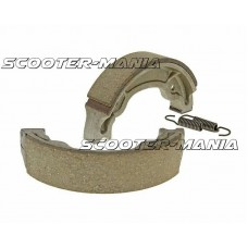 brake shoe set 130x28mm for drum brake for Aprilia Scarabeo 100 2-stroke, MBK Booster 100, Yamaha Aerox 100