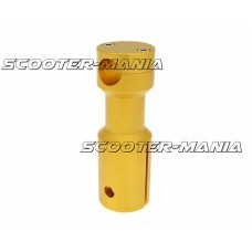 downhill handlebar adapter / mount gold anodized for Peugeot
