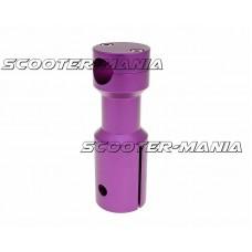 downhill handlebar adapter / mount purple for Peugeot