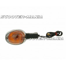 indicator light assy clear front right / rear left for Booster, BWs, Gilera H@k, GSM, Zulu
