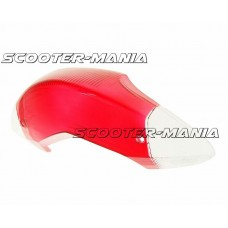 rear light lens red / white for MBK Mach G LC, Yamaha Jog 50 RR