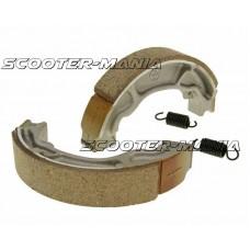 brake shoe set 130x25mm for drum brake for Honda 125, 150 NES, Dylan, Lead, PCX, Passion PES, SH, Vision