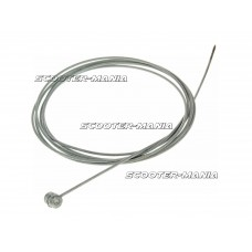 bowden inner cable 180cmx1.6mm with nipple 7mmx7mm