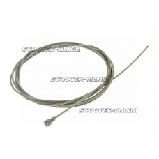 bowden inner cable 180cmx1.6mm with pear nipple