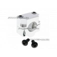 handlebar conversion clamp 22mm clamp to 28.6mm handlebar silver