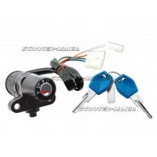 ignition lock for Aprilia RS 50 RX 50, Derbi GPR Senda 50, Gilera SMT RCR