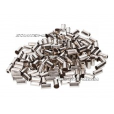 bowden cable end cap metal 6mm 150 pieces