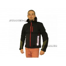 motorcycle jacket X-Guard softshell hoodie size L